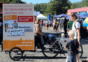 promo bike trailer