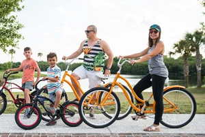 staycation bike rentals